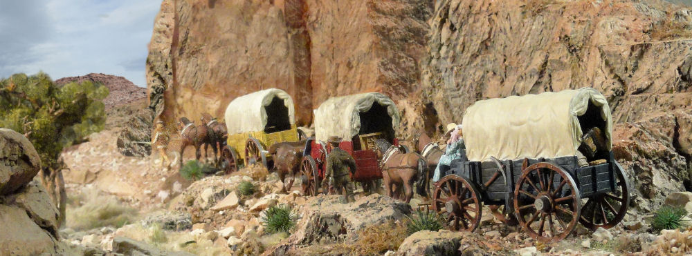 P and P Products Wagon Train
