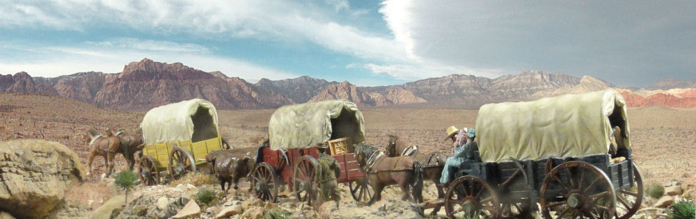 Marx Wagon Train P and P Products
