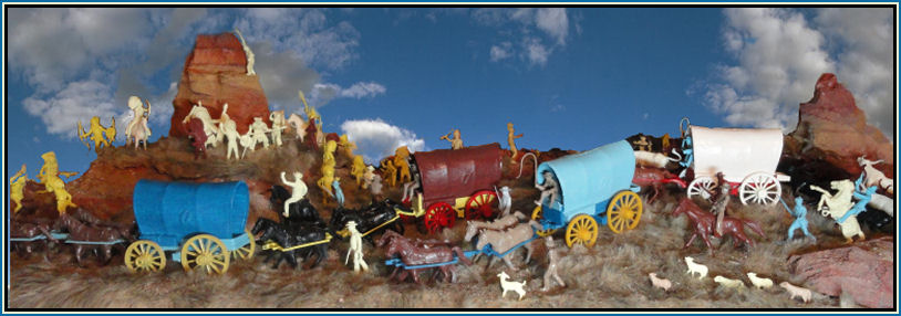 Marx Wagon Train